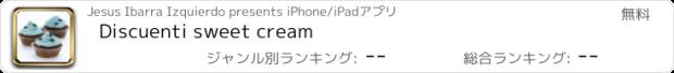 おすすめアプリ Discuenti sweet cream