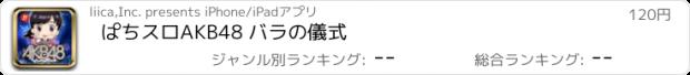 おすすめアプリ ぱちスロAKB48 バラの儀式