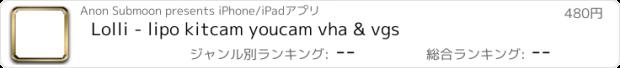 おすすめアプリ Lolli - lipo kitcam youcam vha & vgs