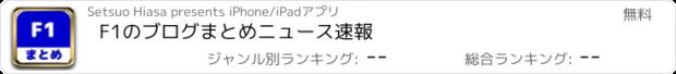おすすめアプリ F1のブログまとめニュース速報