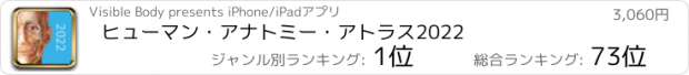おすすめアプリ ヒューマン・アナトミー・アトラス2021