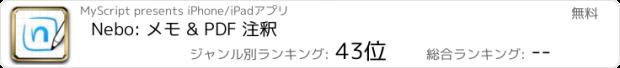 おすすめアプリ MyScript Nebo