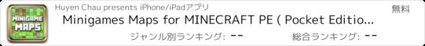 おすすめアプリ Minigames Maps for MINECRAFT PE ( Pocket Edition ) - Download the Best Mini Games Map ( Free ) !