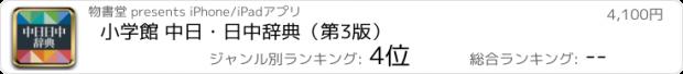 おすすめアプリ 小学館 中日・日中辞典(第3版)