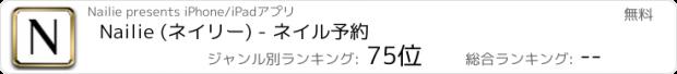 おすすめアプリ Nailie (ネイリー) - ネイル予約