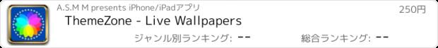 おすすめアプリ ThemeZone - Live Wallpapers
