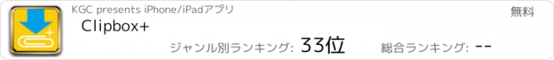 おすすめアプリ Clipbox+