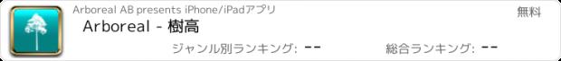 おすすめアプリ Arboreal - 樹高