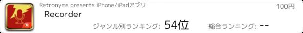 おすすめアプリ Recorder