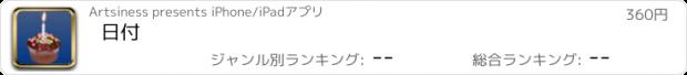 おすすめアプリ 日付