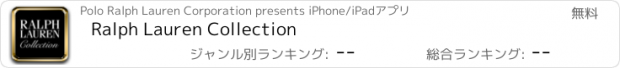おすすめアプリ Ralph Lauren Collection