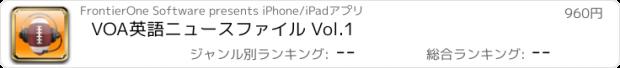おすすめアプリ VOA英語ニュースファイル Vol.1