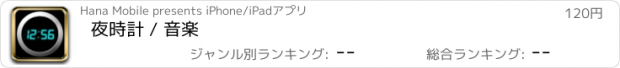おすすめアプリ 夜時計 / 音楽