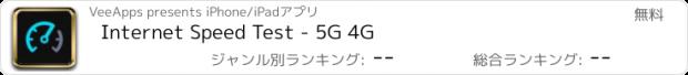 おすすめアプリ Internet Speed Test - 4G LTE