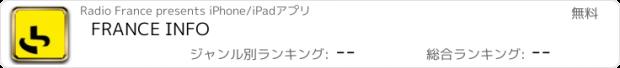 おすすめアプリ FRANCE INFO