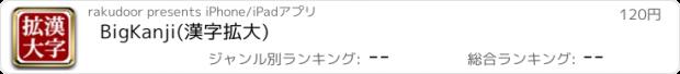 おすすめアプリ BigKanji(漢字拡大)