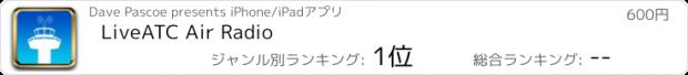 おすすめアプリ LiveATC Air Radio