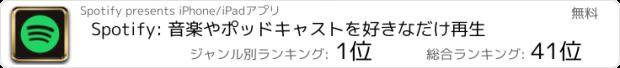おすすめアプリ Spotify -音楽ストリーミングサービス