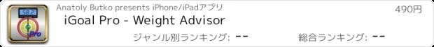 おすすめアプリ iGoal Pro - Weight Advisor