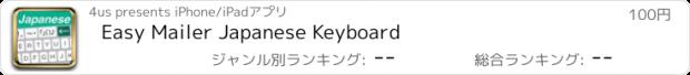 おすすめアプリ Easy Mailer Japanese Keyboard