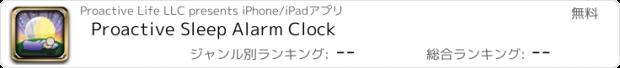 おすすめアプリ Proactive Sleep Alarm Clock