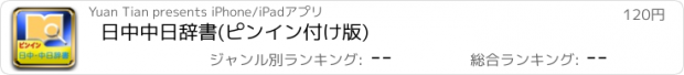 おすすめアプリ 日中中日辞書(ピンイン付け版)
