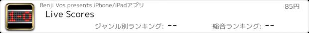 おすすめアプリ Live Scores