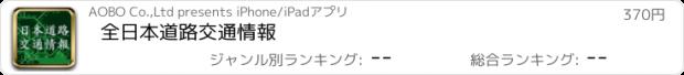 おすすめアプリ 全日本道路交通情報