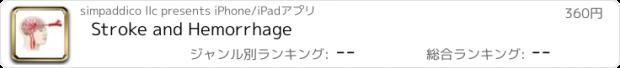 おすすめアプリ Stroke and Hemorrhage