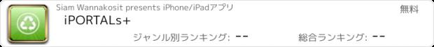 おすすめアプリ iPORTALs+