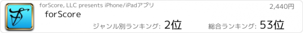 おすすめアプリ forScore