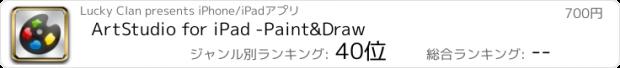 おすすめアプリ ArtStudio for iPad -Paint&Draw