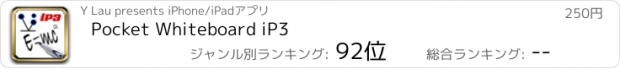 おすすめアプリ Pocket Whiteboard iP3