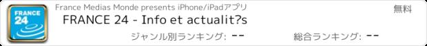 おすすめアプリ FRANCE 24