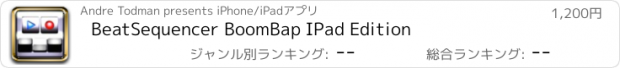 おすすめアプリ BeatSequencer BoomBap IPad Edition