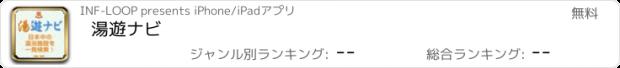 おすすめアプリ 湯遊ナビ