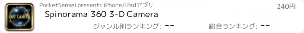 おすすめアプリ Spinorama 360 3-D Camera