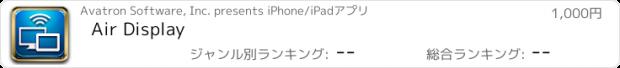 おすすめアプリ Air Display