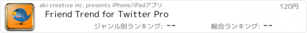 おすすめアプリ Friend Trend for Twitter Pro