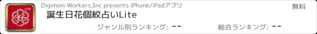 おすすめアプリ 誕生日花個紋占いLite