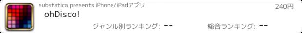 おすすめアプリ ohDisco!