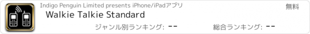 おすすめアプリ Walkie Talkie Standard