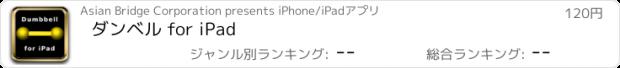 おすすめアプリ ダンベル for iPad