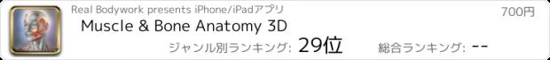 おすすめアプリ Muscle & Bone Anatomy 3D
