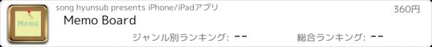 おすすめアプリ Memo Board