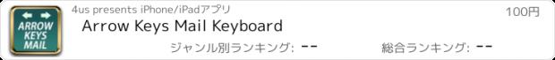 おすすめアプリ Arrow Keys Mail Keyboard