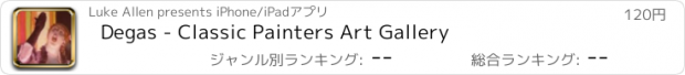 おすすめアプリ Degas - Classic Painters Art Gallery