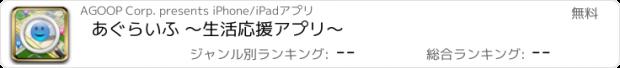 おすすめアプリ あぐらいふ ~生活応援アプリ~