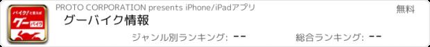 おすすめアプリ グーバイク情報