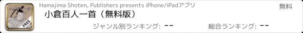 おすすめアプリ 小倉百人一首(無料版)